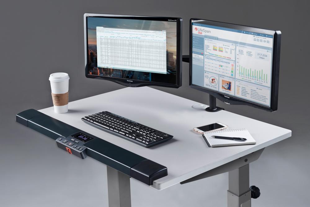 Lifespan tr1200 dt5s treadmill desk kaufen helisports ist for Schreibtisch laufband