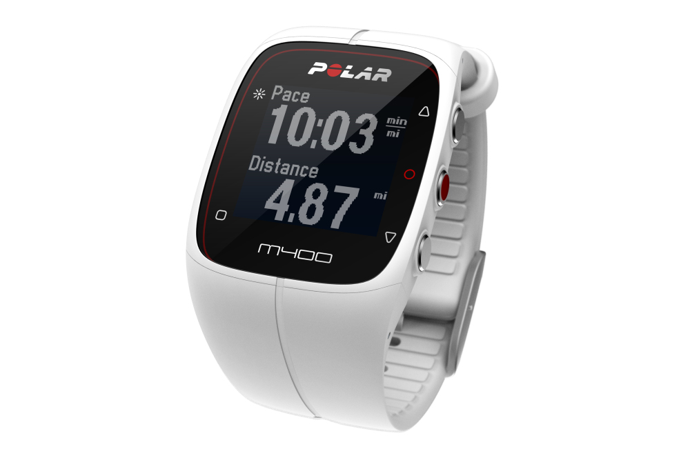 Polar M400 Sport Watch White For Sale At Helisports