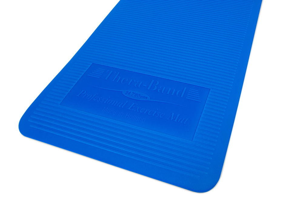 Thera Band Exercise Mat Blue For Sale At Helisports