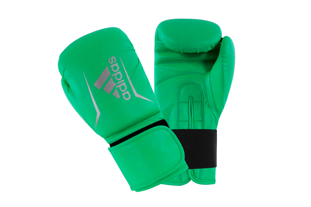 Adidas Speed 50 (Kick) Boxing Gloves Lime/Silver 10oz