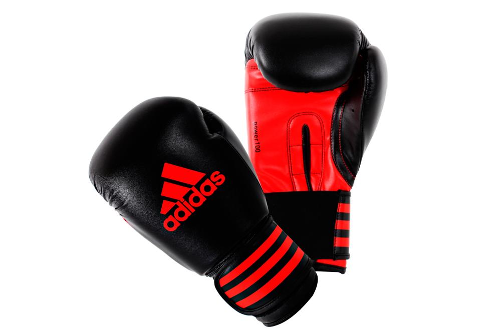acheter adidas power 100 gants de boxe 12 oz helisports. Black Bedroom Furniture Sets. Home Design Ideas