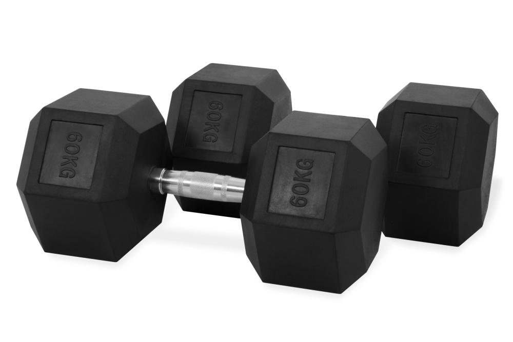 Hastings Hex Dumbbell 60kg Set