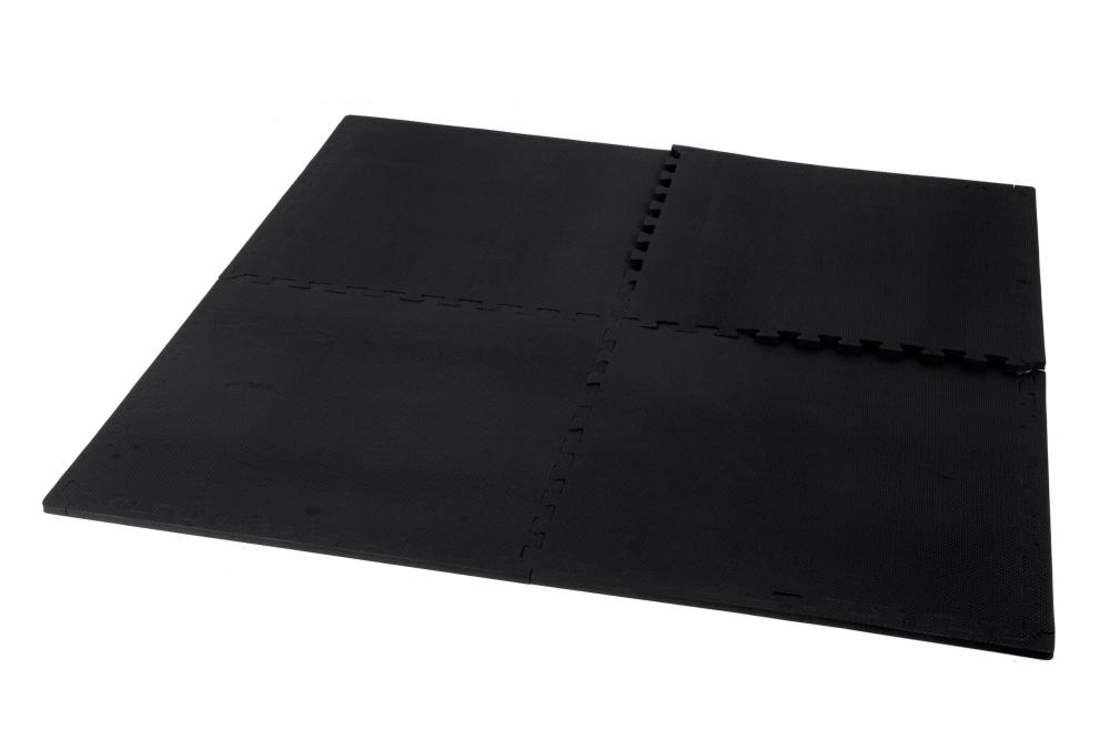 kroon bodenfliesen 12mm schwarz 4 st cke kaufen helisports ist die beste wahl. Black Bedroom Furniture Sets. Home Design Ideas