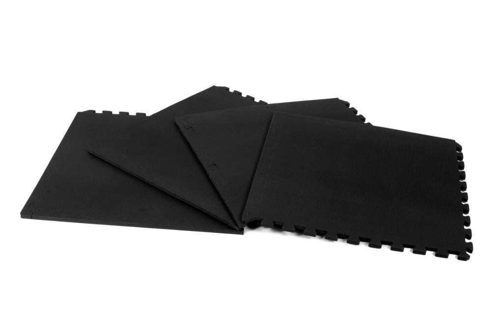 Kroon bodenfliesen 12mm schwarz 4 st ck kaufen for Bodenfliesen schwarz