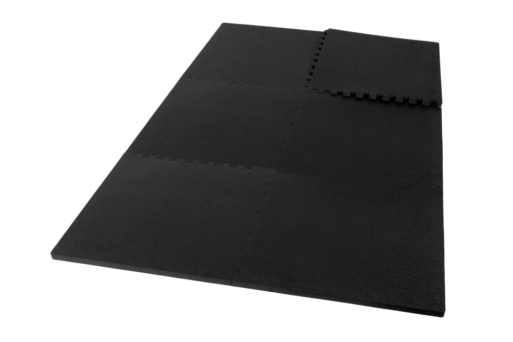 kroon bodenfliesen pro 20mm schwarz 6 st cke kaufen helisports ist die beste wahl. Black Bedroom Furniture Sets. Home Design Ideas