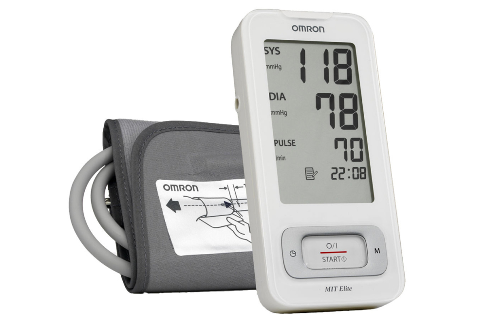 Omron Mit Elite Blood Pressure Monitor For Sale At Helisports