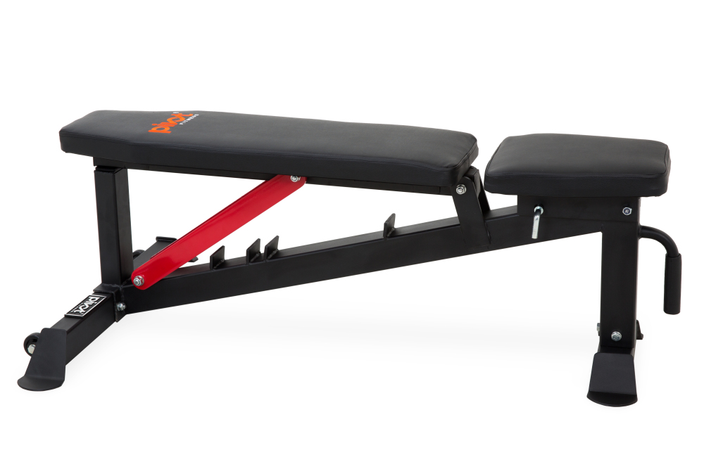 Pivot Fitness Pm122 Heavy Duty Bench For Sale At Helisports