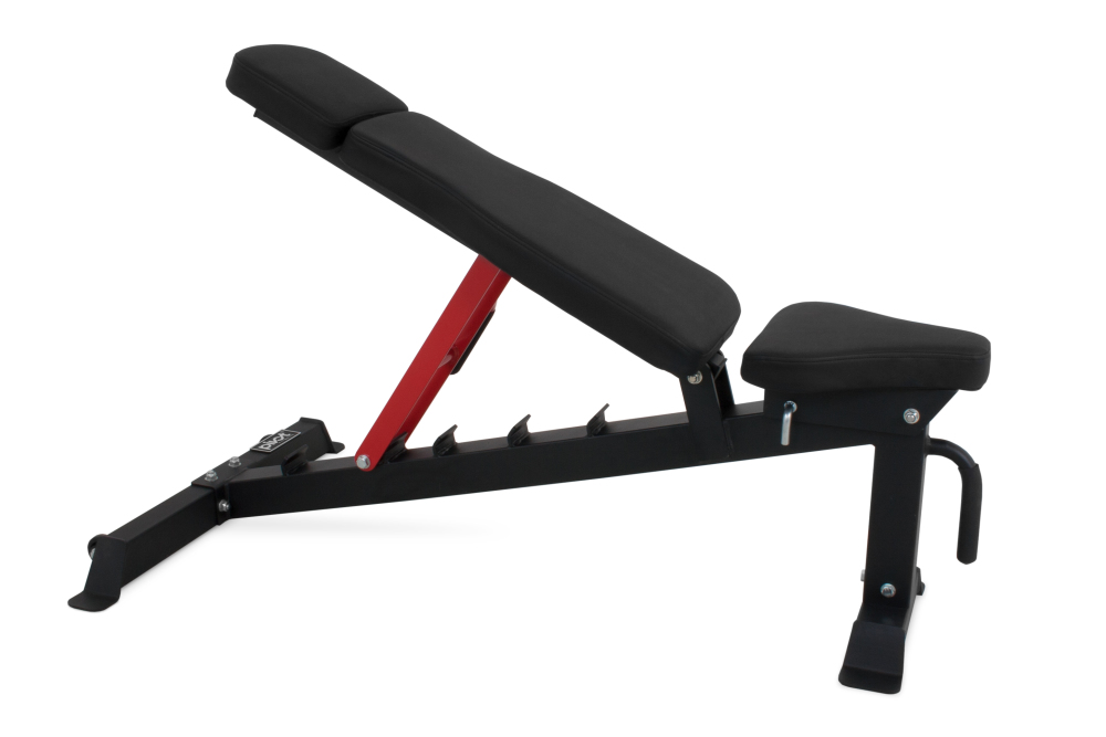 Pivot Fitness Hb3130 Heavy Duty Bench For Sale At Helisports