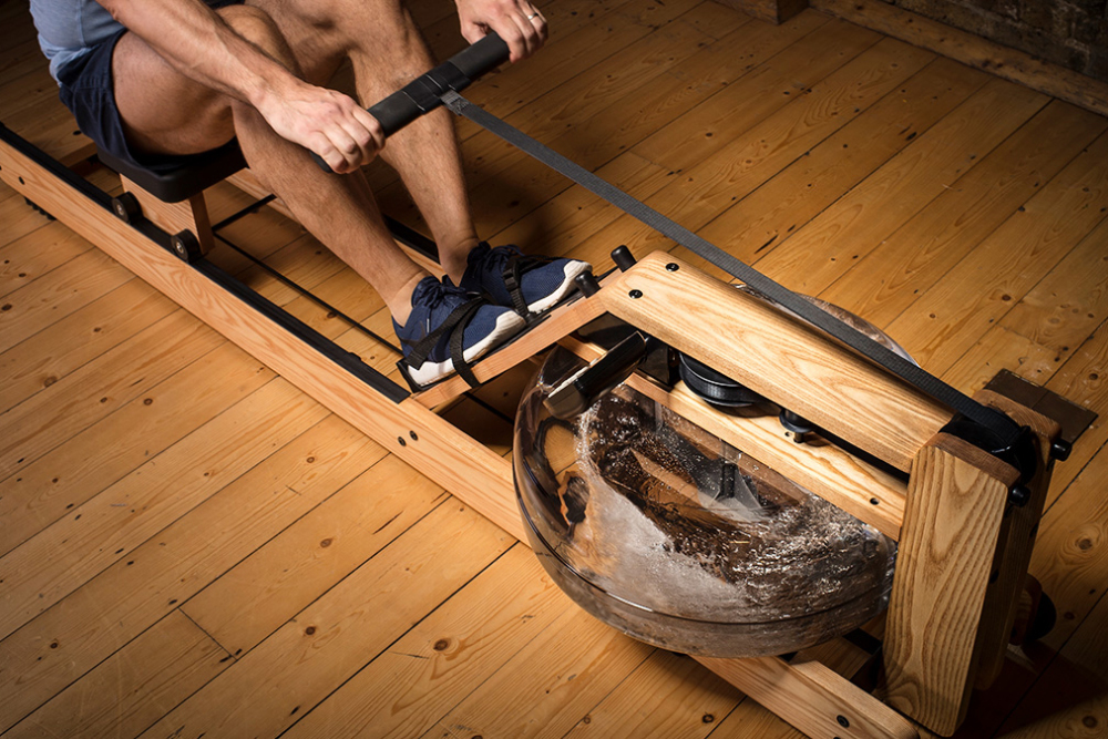 Waterrower Natural Ash Rowing Machine For Sale At Helisports