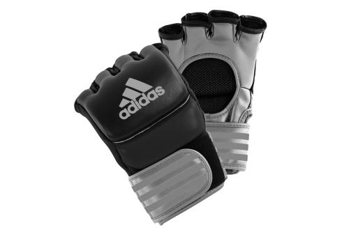 Adidas Ultimate MMA Handschoenen Zwart/Zilver Small