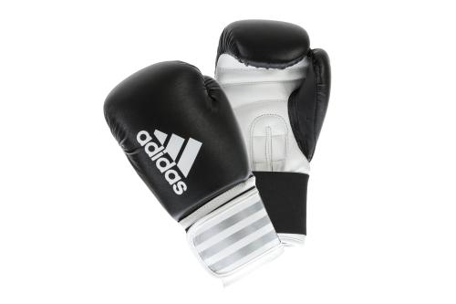 Adidas Hybrid 50 Bokshandschoenen Zwart/Wit 12oz