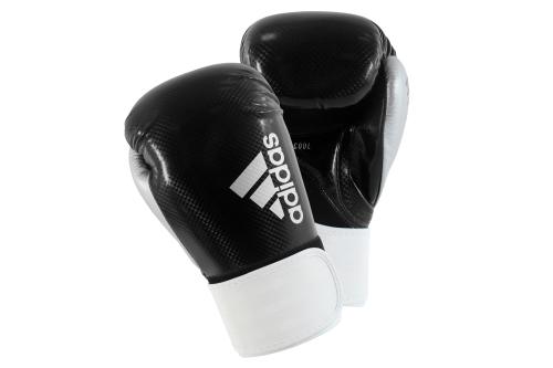 Adidas Hybrid 75 Bokshandschoenen Zwart/Wit/Zilver 12oz