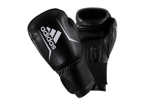 Adidas Speed 50 (Kick)Bokshandschoenen Zwart/Wit 10oz