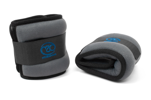 Fitness Mad Wrist Ankle Weights 2 x 1 kg