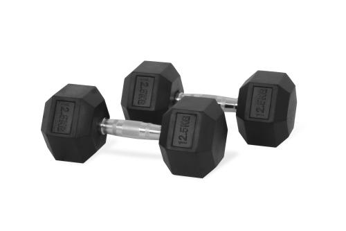 Hastings Hex Dumbbell 12.5 kg Set