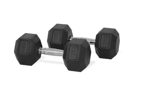 Hastings Hex Dumbbell 12 kg Set