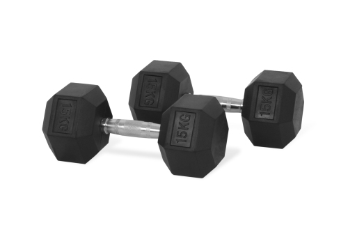 Hastings Hex Dumbbell 15 kg Set