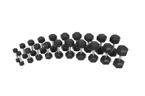 Hastings 2-20kg Hex Dumbbells