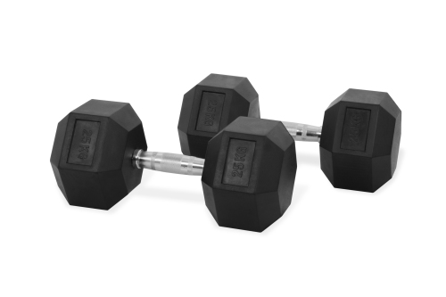 Hastings Hex Dumbbell 25 kg Set