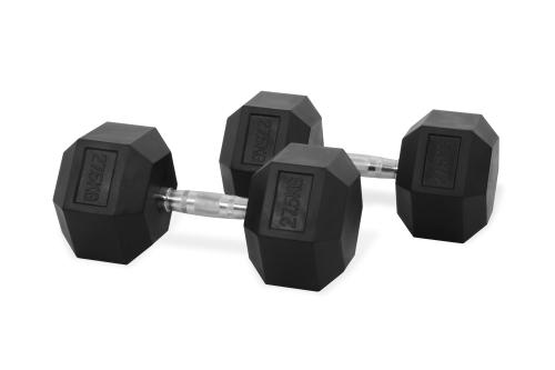 Hastings Hex Dumbbell 27.5 kg Set