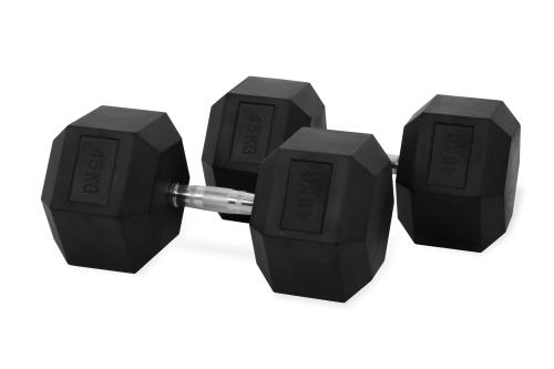 Hastings Hex Dumbbell 45 kg Set