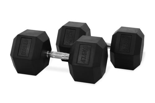 Hastings Hex Dumbbell 47.5 kg Set
