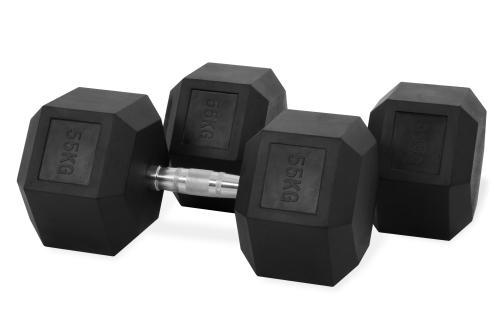 Hastings Hex Dumbbell 55kg Set