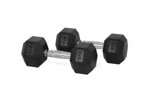 Hastings Hex Dumbbell 9 kg Set