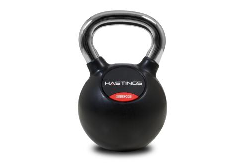 Hastings Professional Chrome Kettlebell 28 kg