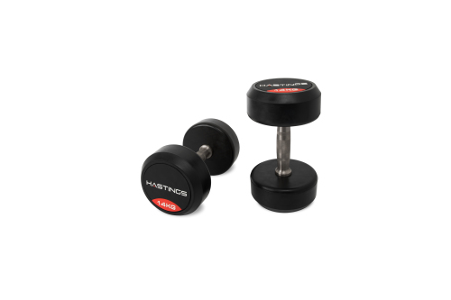 Hastings 14 kg Professional Dumbbell Set