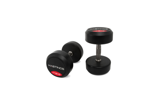 Hastings 17.5 kg Professional Dumbbell Set
