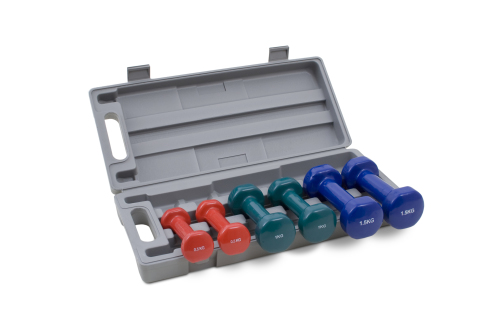 Kroon Vinyl Dumbbell set 6kg