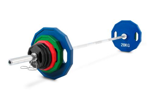 Kroon OP-100 Dischi di Ghisa set Pro Olimpici con copertura di gomma