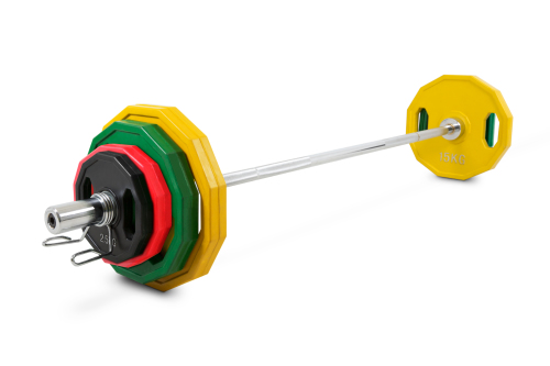 Kroon OP-80 Pro Rubber Coated Olympic Plate Set
