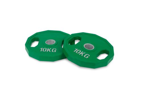 10kg Dischi di Ghisa olimpici di gomma