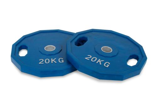 20 kg rubber olympische schijvenset
