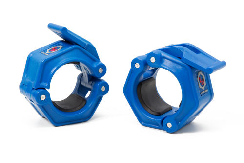 Lock-Jaw OLY-2 Collars Blue