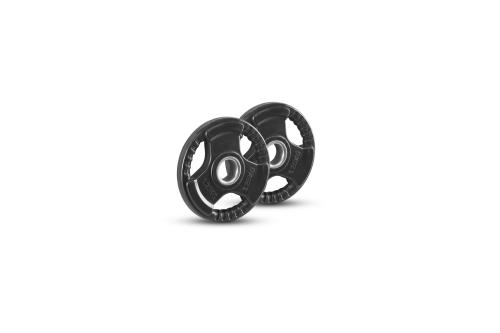 Newton Fitness 30mm Set di Dischi di Gomma 1.25 kg