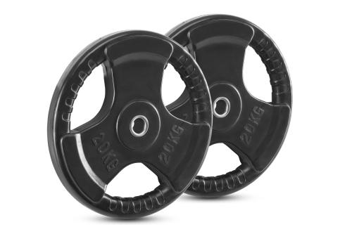 Newton Fitness 30mm Rubberen Schijvenset 20 kg
