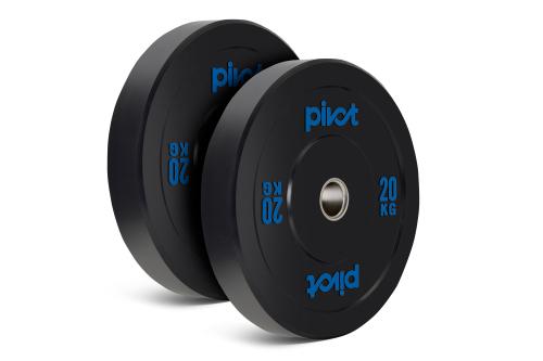 Pivot Fitness Pro Training Bumper Plates 20kg Set