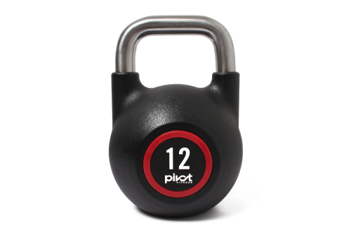 Pivot Fitness Pro Rubber Competition Kettlebell 12 kg