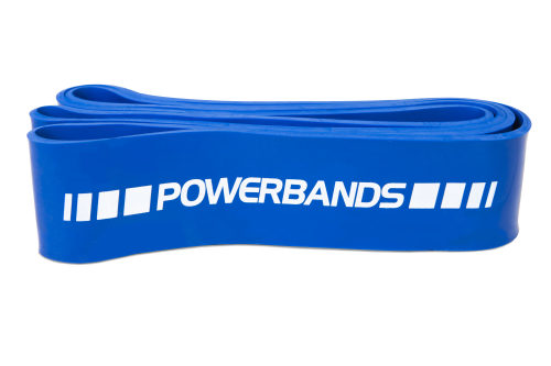 PowerMark PM220 Strength Band Medium Blauw 65mm