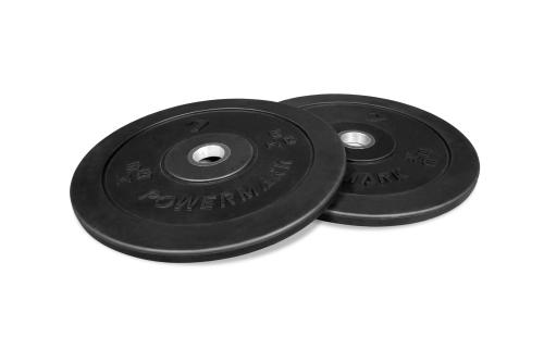PowerMark Bumper Plate Set 5kg