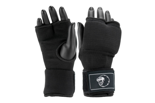 Super Pro Binnenhandschoen Zwart/Wit M