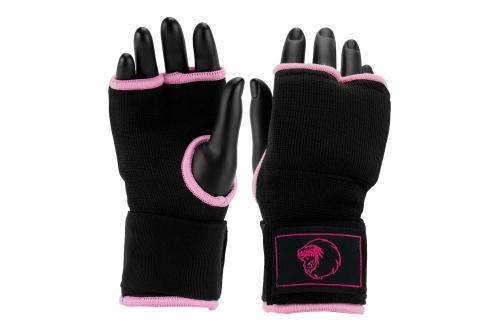 Super Pro Binnenhandschoen Zwart/Roze L