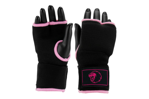 Super Pro Binnenhandschoen Zwart/Roze M