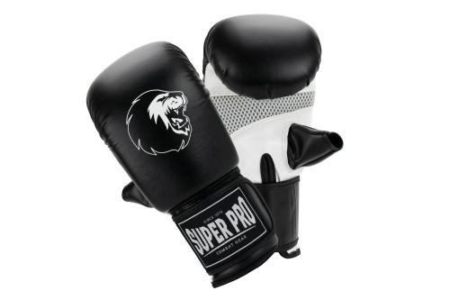 Super Pro Bag Handschoenen Victor Zwart/Wit L