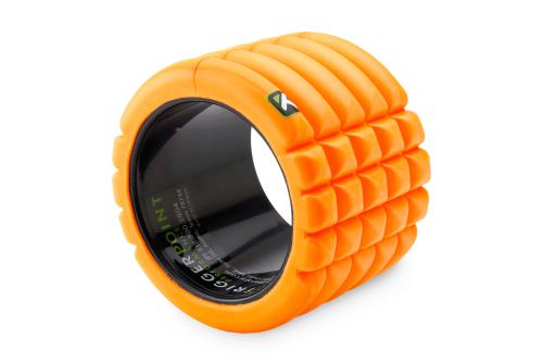 Trigger Point The Grid Mini Rullo di Schiuma Arancione