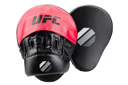 UFC Contender MMA Curved Focus Pads Handpads Noir/Rouge