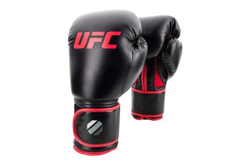 UFC Contender Muay Thai Kickbokshandschoenen Zwart/Rood 14oz